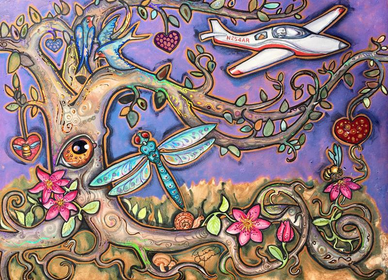 'Dreams of Flight' by Lisa Luree