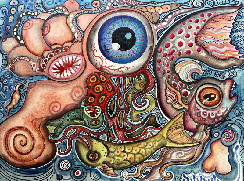 'Visionary Depth' by Lisa Luree