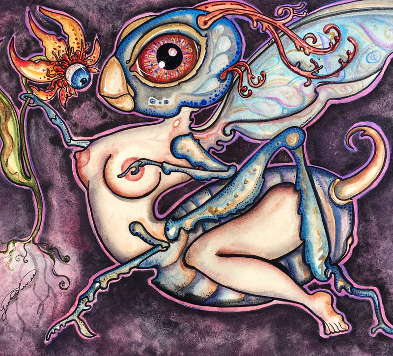 'Tweaksy Fly and Her Visionary Bud' by Lisa Luree