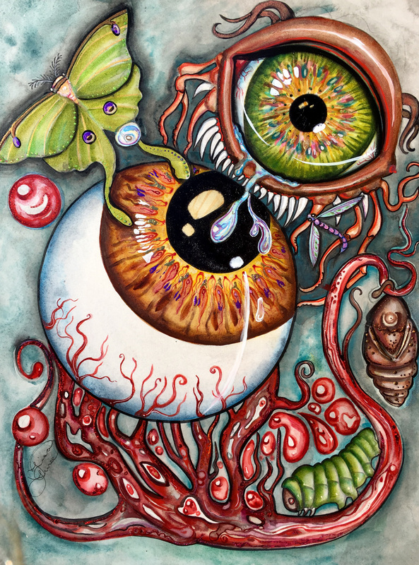 'An Eye for an Eye' by Lisa Luree