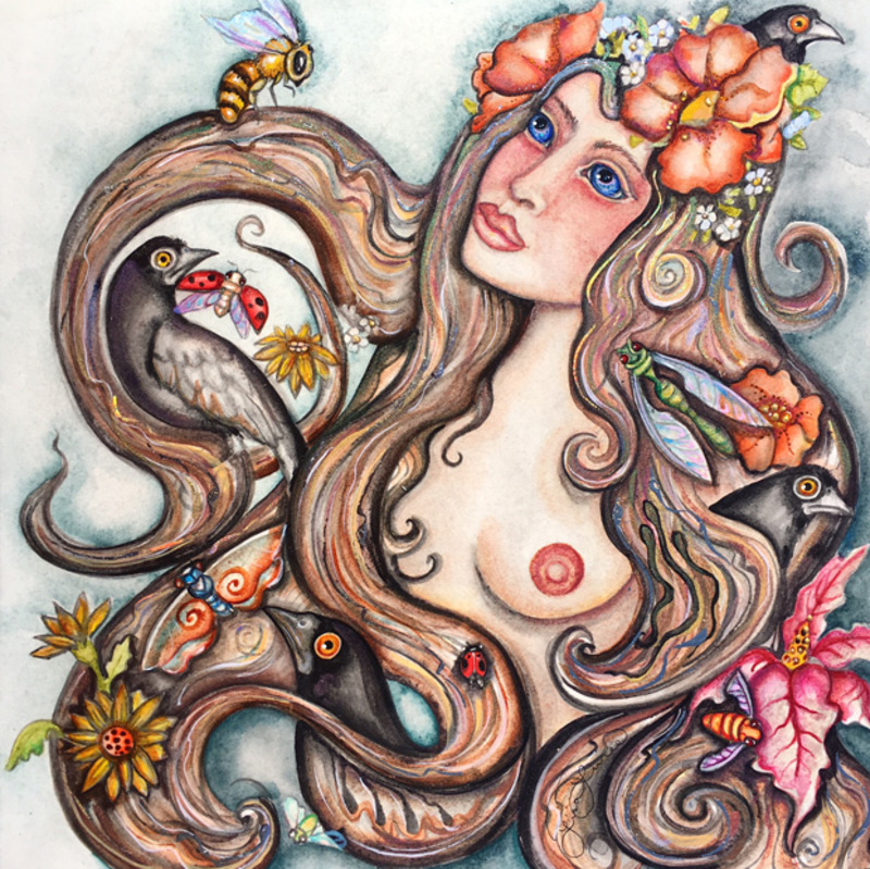 'Fertile Daydream' by Lisa Luree