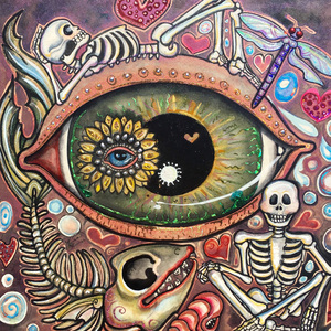 'M'eye Frivolous Daydream' by Lisa Luree