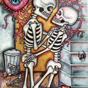 'Back Alley Bones' by Lisa Luree