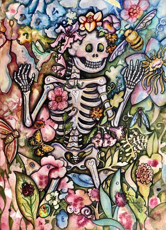 'Vibrantly Mortal' by Lisa Luree