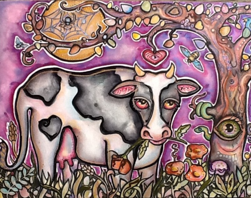 'Bovine Dreams' by Lisa Luree